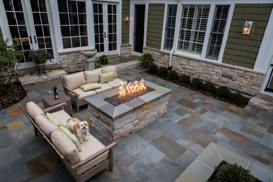 Pictures Of Fire Pits In A Backyard backyard firepits - custom design | hardscape construction