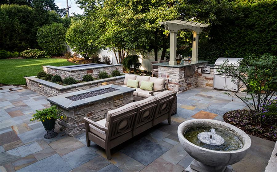 Wheaton Backyard Retreat Bruss Landscaping Design Portfolio